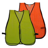 Petra Roc Non-ANSI Economy Mesh Safety Vest, No Reflective Tape