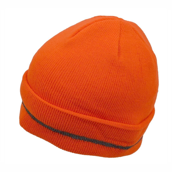 Petra Roc OBE-S1 Orange High Visibility Reflective Beanie Hat