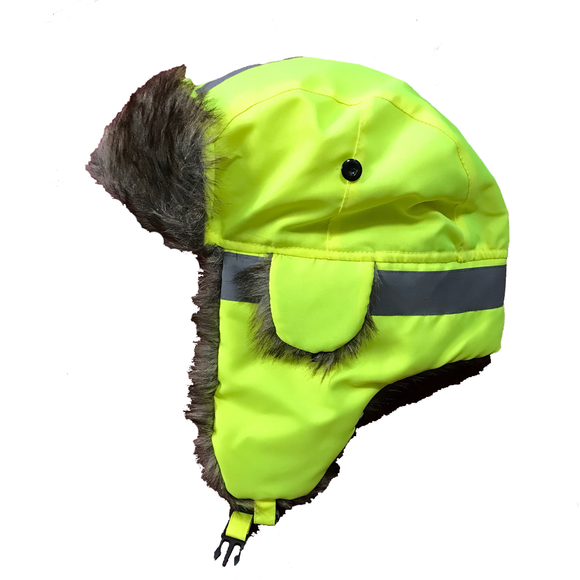 Petra Roc TTH-LHV Hi Vis Thermal Winter Trapper Hat