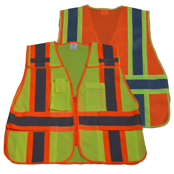 Petra Roc Two Tone Expandable 5-Point Breakaway Public Safety Vest
