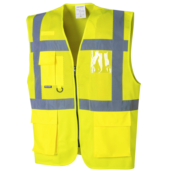 Portwest UC496 Madrid Executive Mesh Vest