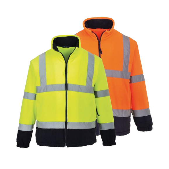 Portwest UF301 Hi-Vis Two-Tone Fleece