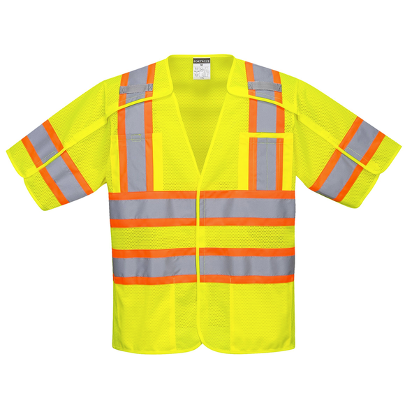 Portwest US382 Kobuk Hi-Vis Breakaway Safety Vest