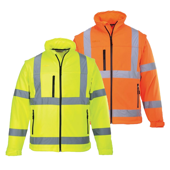 Portwest US428 Hi-Vis Softshell Jacket