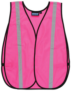 ERB S102 Girl Power Hi-Viz Pink Safety Vest