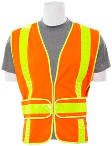 ERB S104SP Class 2 Hi Vis Chevron Safety Vest