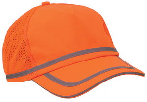 ERB S108 Hi-Viz Orange ANSI Ball Cap