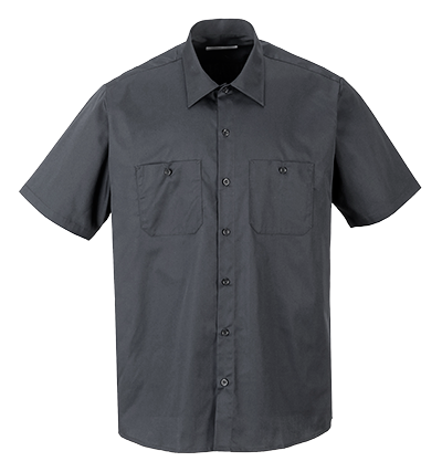 Portwest S124 Industrial Short Sleeve Work Shirt