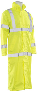 ERB S163 ANSI Class 3 Long Raincoat