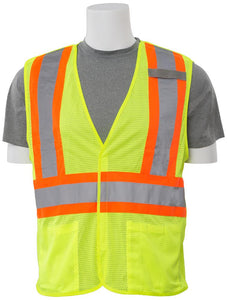 ERB S322 ANSI Class 2 Mesh Breakaway Safety Vest