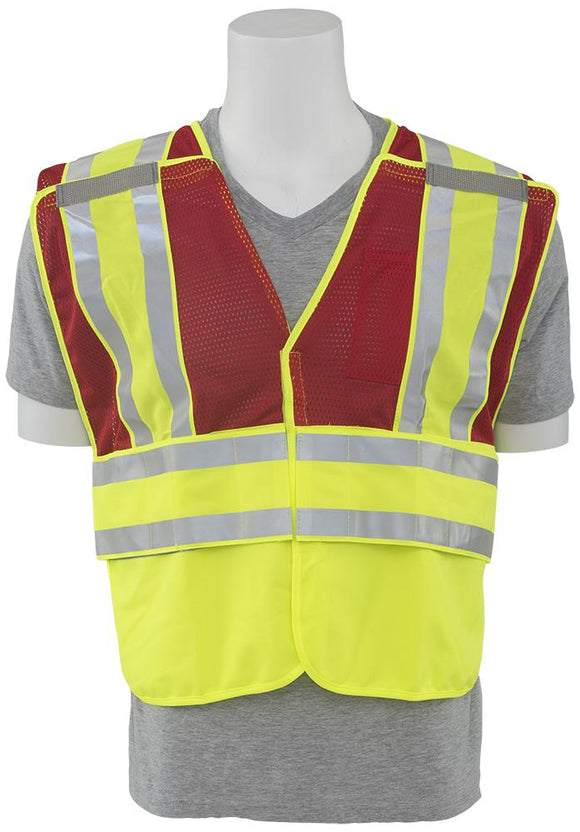 ERB S340 Red Breakaway Public Safety Vest
