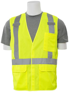 ERB S361 ANSI Class 2 D-Ring Breakaway Safety Vest