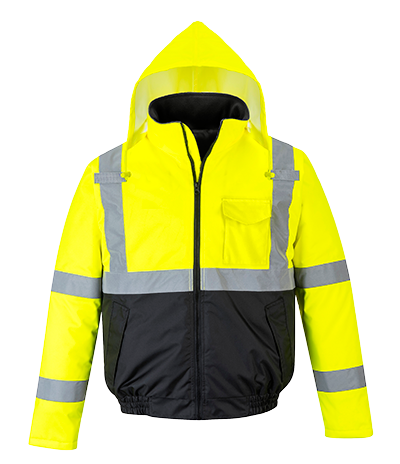 Portwest US363 Hi-Vis Two-Tone Bomber Jacket