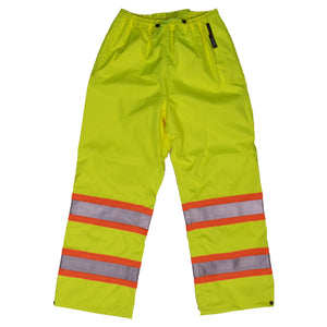 Work King S374 Class E HiVis Waterproof Ripstop Rain Pant