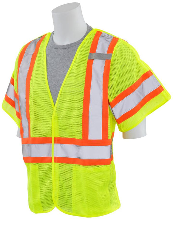ERB S622 ANSI Class 3 Mesh 5 Point Breakaway Safety Vest