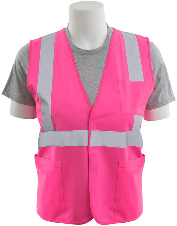 ERB 762P 762P Girl Power Unisex Fit Pink Safety Vest