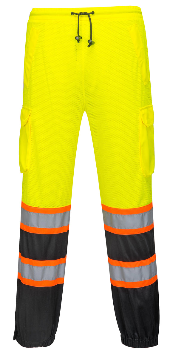 Portwest US388 Two Tone Mesh Hi Vis Cargo Pants