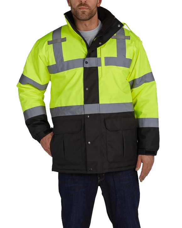 Utility Pro Wear UHV1004 Contractor High Visibility Parka