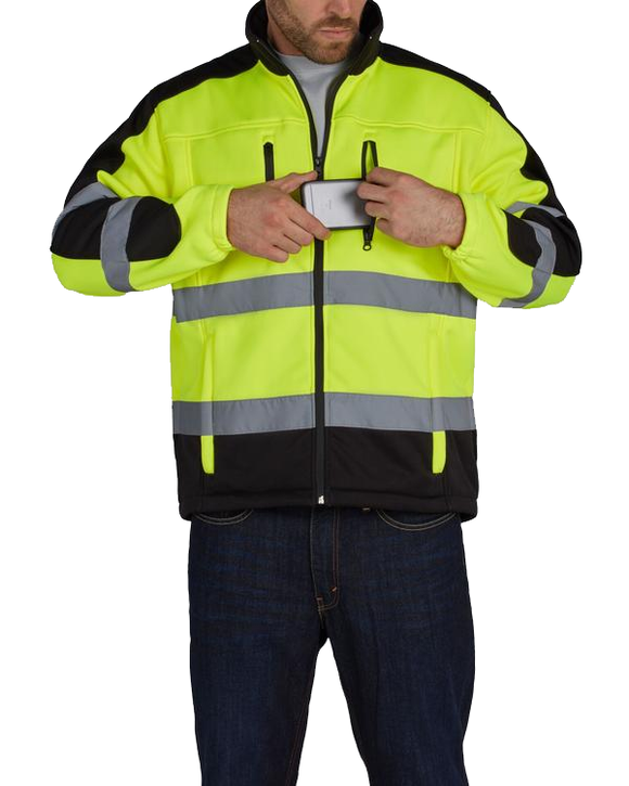 Utility Pro UHV427 High Visibility Soft Shell Jacket