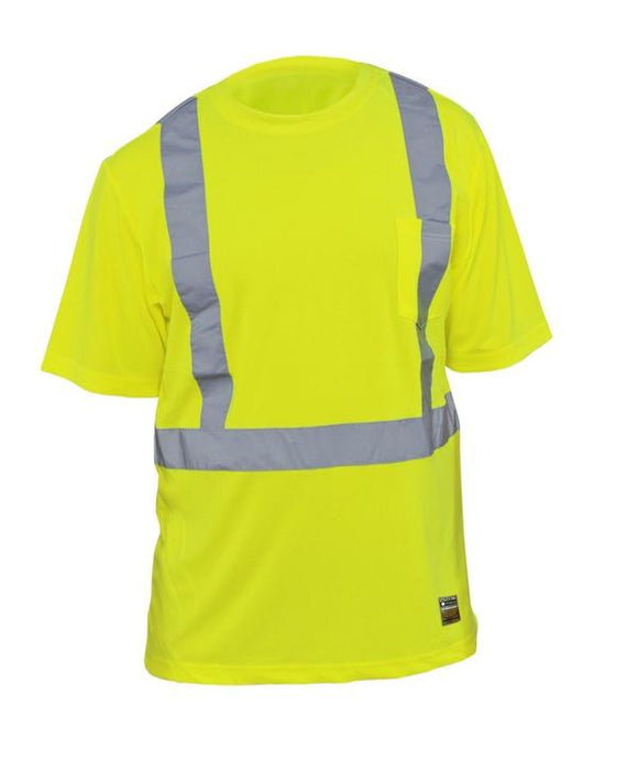 Utility Pro UHV868 Hi Vis Class 2 Short Sleeve T-Shirt with Perimeter Insect Guard
