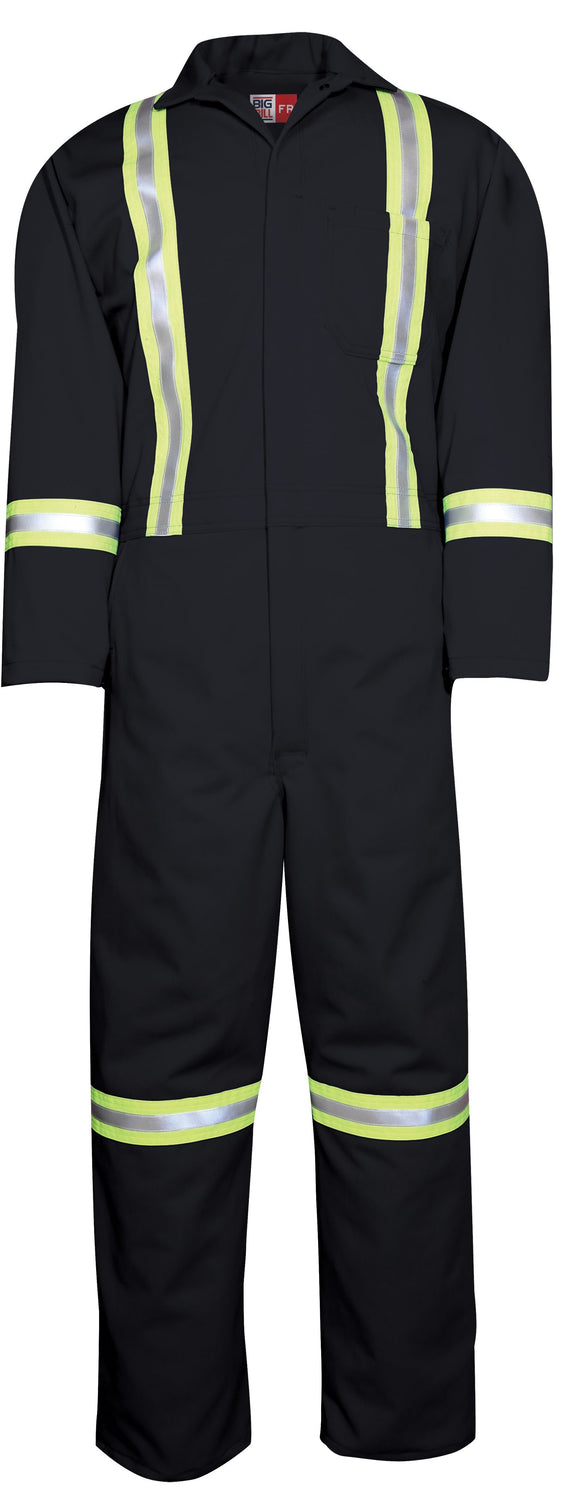 Big Bill 401RTUS7 Westex UltraSoft® Unlined FR Work Coverall with Reflective Material