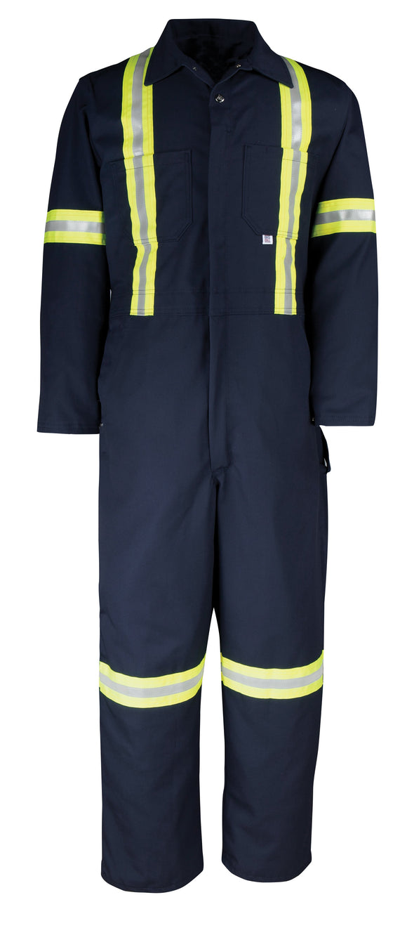 Big Bill 429BF Deluxe Twill Coverall with Reflective Material