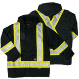 Work King S176 Class 1 HiVis Thermal Parka
