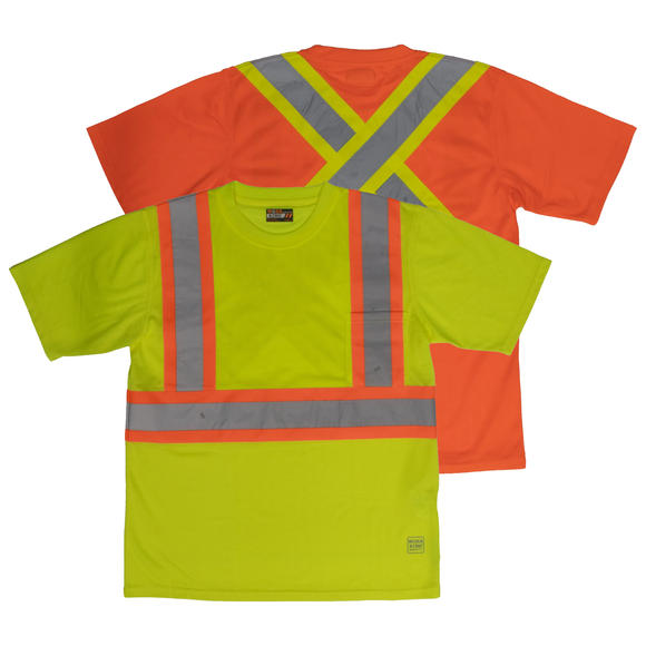 Work King S392 Class 2 HiVis Shirt with Pocket