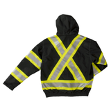 Work King S413 Class 1 HiVis 3-in-1 Bomber Jacket