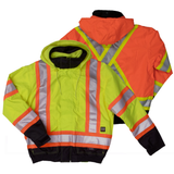 Work King S413 Class 3 HiVis 3-in-1 Bomber Jacket