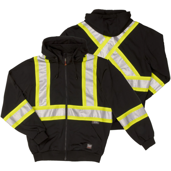Work King S494 Class 1 HiVis Safety Hoodie