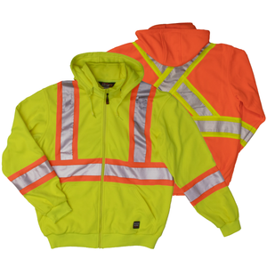 Work King S494 Class 2 HiVis Safety Hoodie