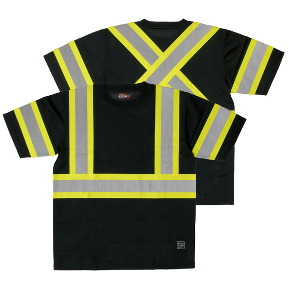 Work King ST09 Class 1 HiVis Contrast Safety Shirt