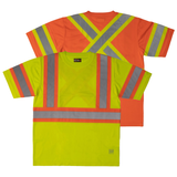 Work King ST09 Class 2 HiVis Contrast Safety Shirt
