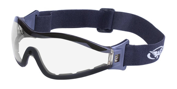Global Vision Z-33 CL A/F Anti-Fog Goggles with Clear Lenses
