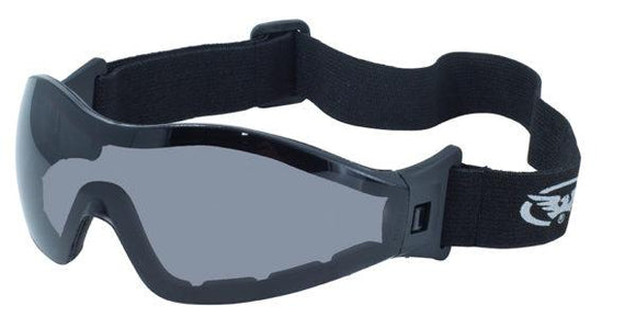 Global Vision Z-33 A/F Anti-Fog Goggles with Smoke Lenses