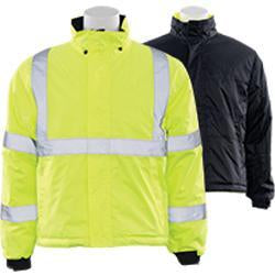 ERB S442SP ANSI Class 3 Reversible High Visibility Jacket