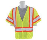 ERB S682P ANSI Class 3 High Visibility Mesh Safety Vest