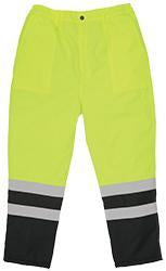 ERB S850PT ANSI Class E Lined High Visibility Rain Pants