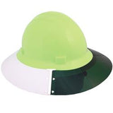 ERB 17986 Americana Full Brim Hard Hat Sun Shield