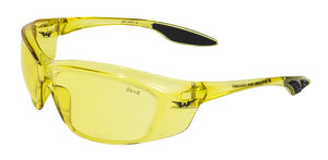 Global Vision Forerunner Safety Sunglasses with Yellow Tint Lenses