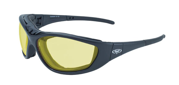 Global Vision Freedom 24 Kit A/F Anti-Fog Safety Glasses Kit with Yellow Photochromic Transition Lenses