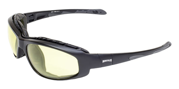 Global Vision Hercules 2 Plus 24 Kit Safety Glasses with Yellow Photochromic Lenses