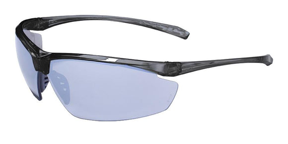 Copy of Global Vision Lieutenant CF FM Safety Glasses with Flash Mirror Lenses, Gray Frames