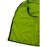 ANSI Class 2 Deluxe 8-Pocket High Visibility Heavy Duty Surveyors Safety Vest, Inside Pocket