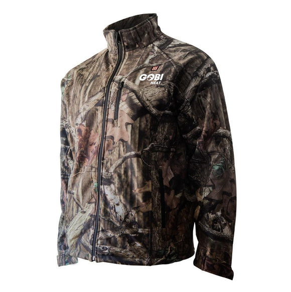 Gobi Heat Sahara Mens Mossy Oak Camo® Break-Up® Heated Jacket