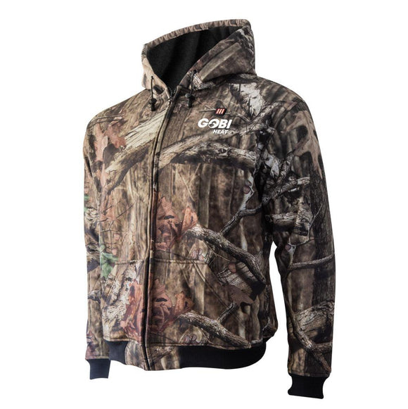 Gobi Heat Shadow Mens Mossy Oak® Break-Up® Heated Hoodie