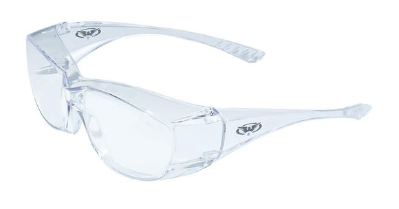 Global Vision Oversite Safety Glasses with Clear Lenses