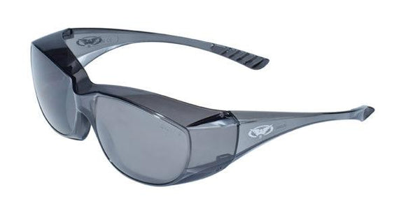 Global Vision Oversite Safety Glasses with Smoke Lenses