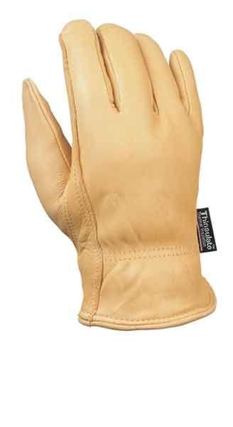 Fairfield Glove GB1801TH Deerskin Leather Work Glove with Thinsulate Lining